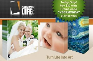 canvas life 300x198 Eversave: $5 off Code Good Today Only (11/29)