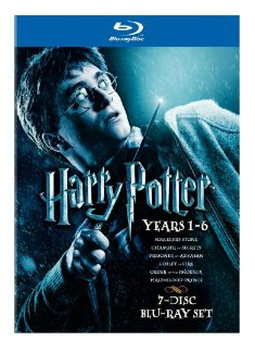 harry potter dvd set