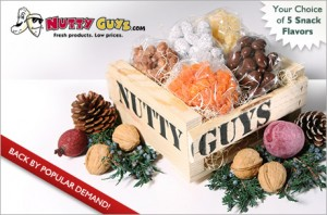 Eversave:  Nutty Guys Gift Basket for $10