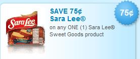 sara lee sweet goods coupon