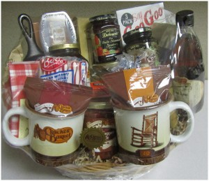 Closed Holiday Giveaway Cracker Barrel Gift Basket 100 Gift