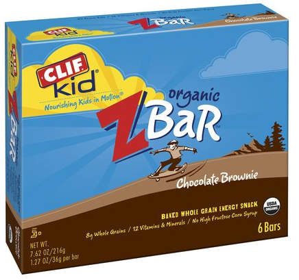 clif organic bars