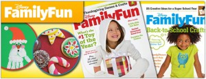 Disney's Family Fun Magazine for just $2.99/yr
