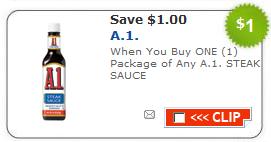 a1 sauce coupon