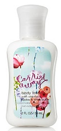 carried away lotion