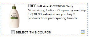 free aveeno lotion Free Aveeno Daily Lotion After Rebate Plus Coupons