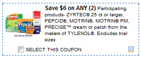 motrin coupons