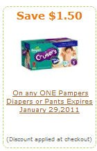 pampers amazon coupon
