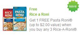 pasta roni coupon