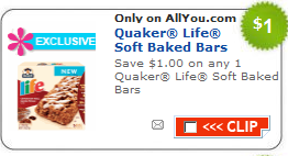 quaker bars coupon