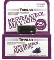 resveratrol max dots