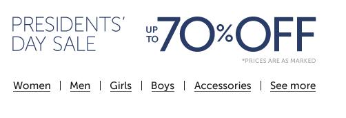 Amazon's President's shoe sale