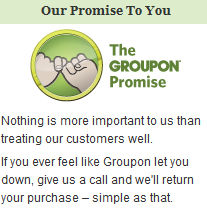 groupon promise Update to Blue Dolphin Groupon Deal