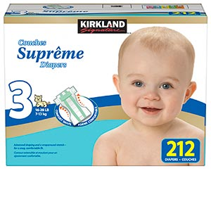 kirkland diapers