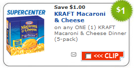kraft macaroni cheese coupon