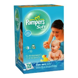 pampers wipes box amazon