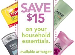 unilever target coupons