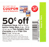 walgreens store coupon1 Daily Money Tip: Learn to Tell the Difference Between a Manufacturer and a Store Coupon