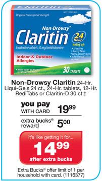 claritin cvs