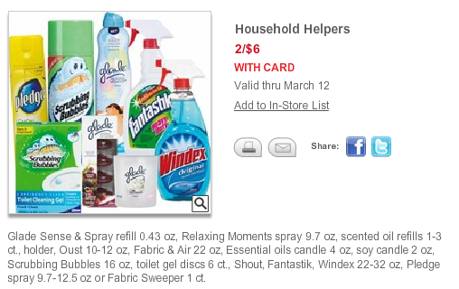 cvs ecb deal household cleaners