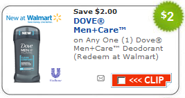 dove deodorant coupon