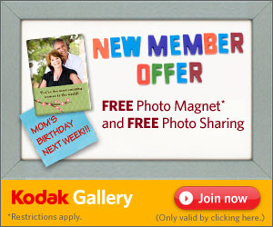 free photo magnet kodak