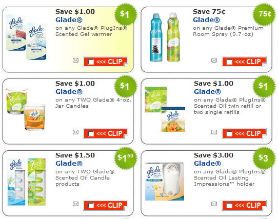 glade coupons new