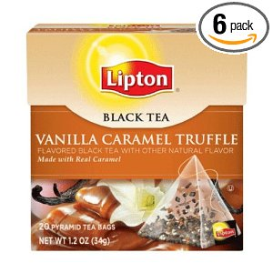 lipton tea vanilla caramel