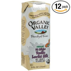 organic valley vanilla milk