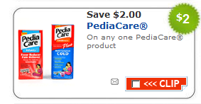 pediacare coupon