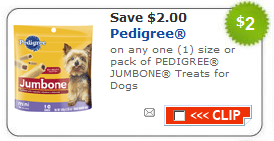 pedigree dog treats coupons