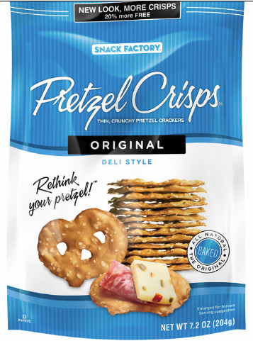 pretzel crips coupon