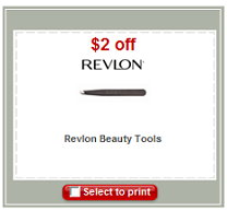 revlon beauty tools coupon New $2/1 Revlon Beauty Tool Coupon