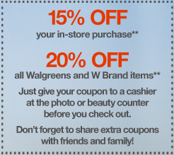 walgreens friend and family coupon