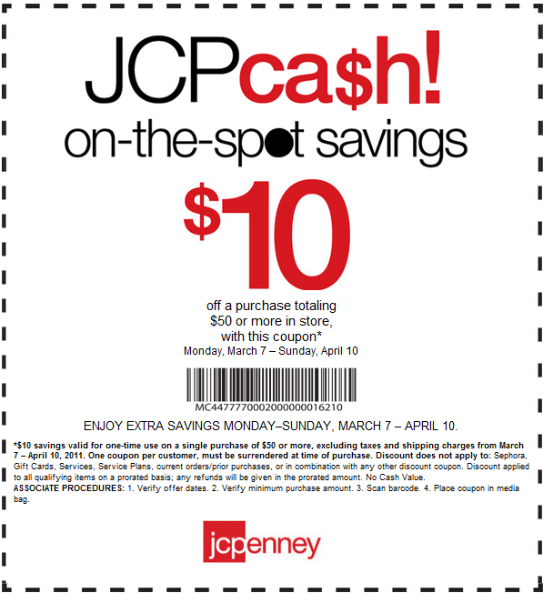 30 jcpenney coupon