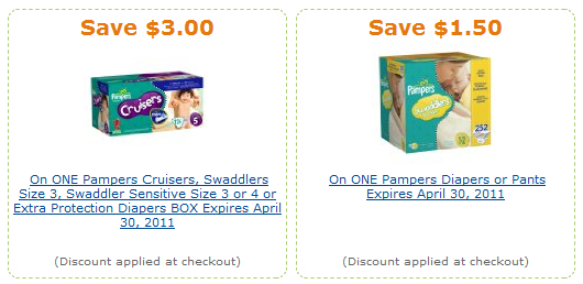 amazon pampers coupons