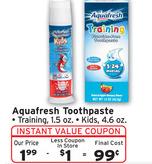 aquafresh walgreens