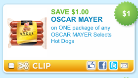 coupon for hotdogs