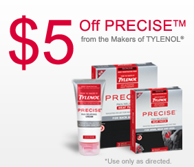 tylenol precise coupon new