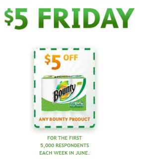 photo about Bounty Printable Coupons known as $5/1 Bounty Coupon Currently (10,000 Accessible) Well known Really feel