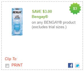 bengay coupon