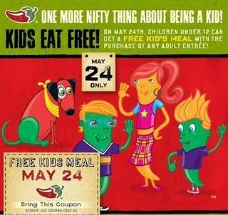 kids eat free chilis