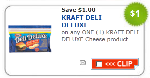 kraft Deluxe cheese coupon