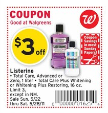 listerine coupon new