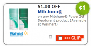 picture relating to Mitchum Printable Coupon named $1/1 Mitchum Deodorant Coupon + CVS and Walgreens Offers