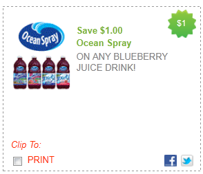 ocean spray juice coupon