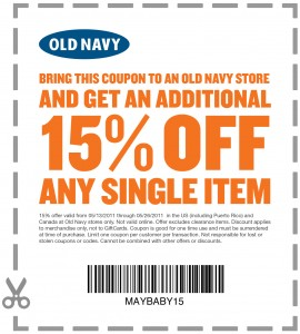 Old navy in store printable coupons oct 2018