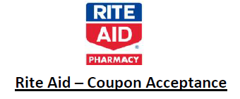 rite aid's coupon acceptance