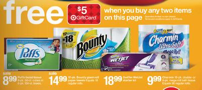 target charmin gift card deals