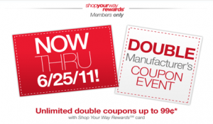 Kmart Double Coupon Deals